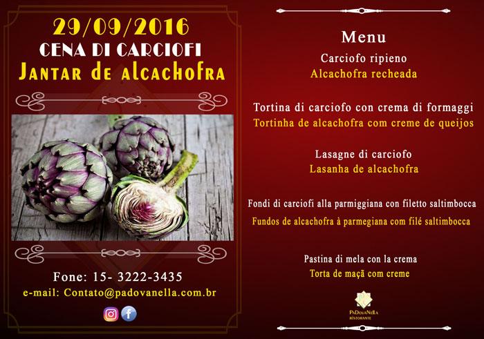 Tradicional Jantar da Alcachofra